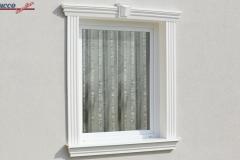 Beschichtetes Fassadenprofil