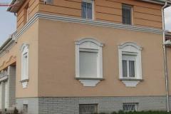 Stuckelemente-Fassade