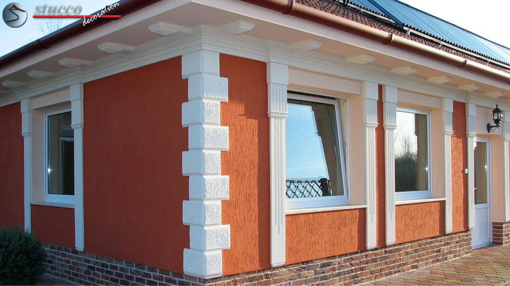 Fassadengestaltung einfamilienhaus beispiele  Bossensteine Quadersteine vom Stuckhersteller | Stuckhersteller
