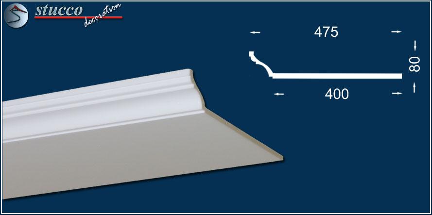 led spot beleuchtung mit styropor zierleisten | stuckhersteller, Wohnzimmer