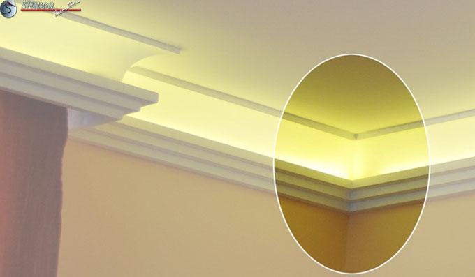 lichtleisten indirekte beleuchtung das beste aus. Black Bedroom Furniture Sets. Home Design Ideas