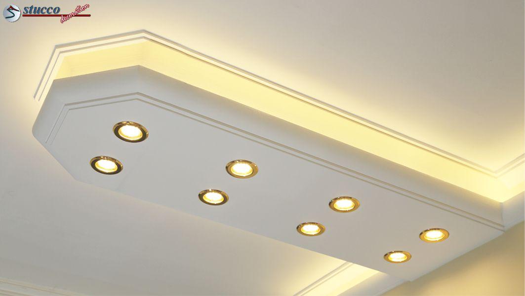 LED Beleuchtung mit Stuckleisten   Stuckhersteller