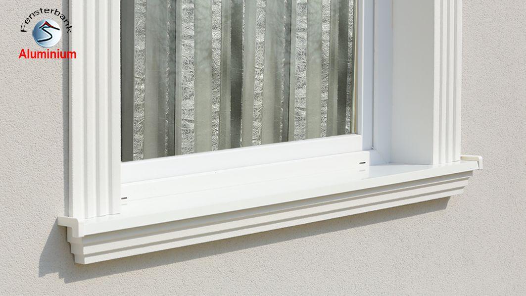 komplete alu aussenfensterbank 105
