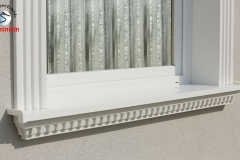 komplete alu aussenfensterbank 106 F