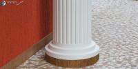 Säulen-Stuck