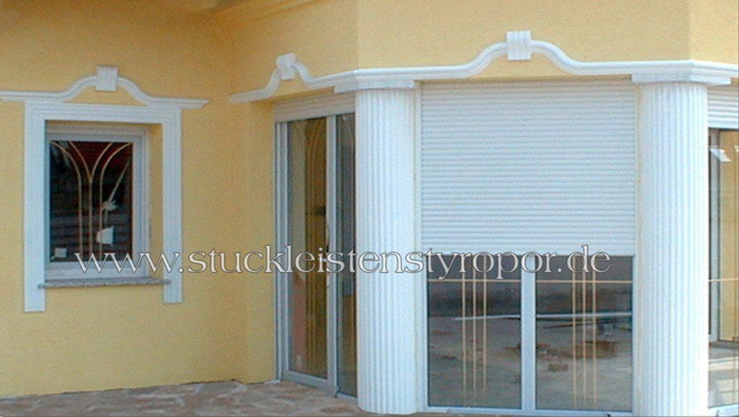 Fensterstuck für kleine und große Fenster