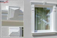 Fensterumrandung