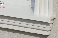 Fensterbank Styropor