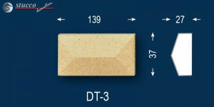 Beschichtet Avitus DT-3 Linie Dekor zum Fenster