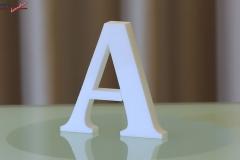 Styroporbuchstaben-a
