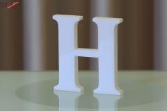 Styroporbuchstaben-h