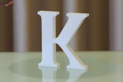 Styroporbuchstaben-k