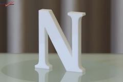 Styroporbuchstaben-n