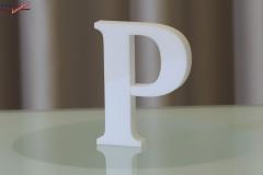 Styroporbuchstaben-p