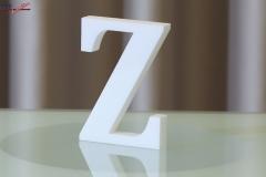 Styroporbuchstaben-z