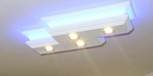 Stucklampe mit LEDs