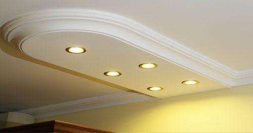 LED Licht im Wohzimmer