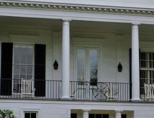 Säulen für Terrasse und Balkon